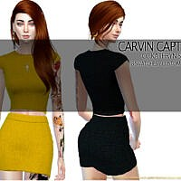 Kathryn Skirt Set By Carvin Captoor