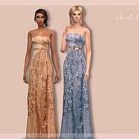 Embellished Dress Dr404 By Laupipi