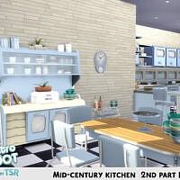 Retro Mid-century Kitchen 2nd Part By Kardofe