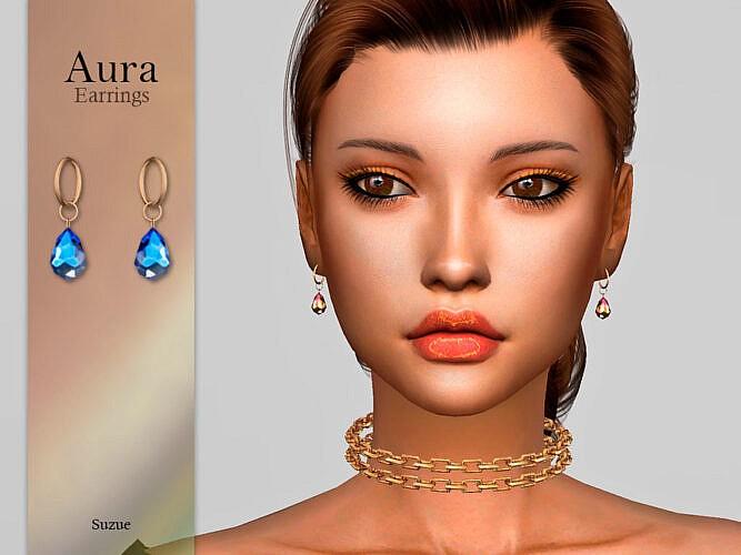 Aura Earrings By Suzue