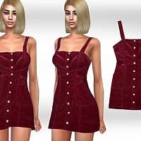 Velvet Blend Dress By Saliwa