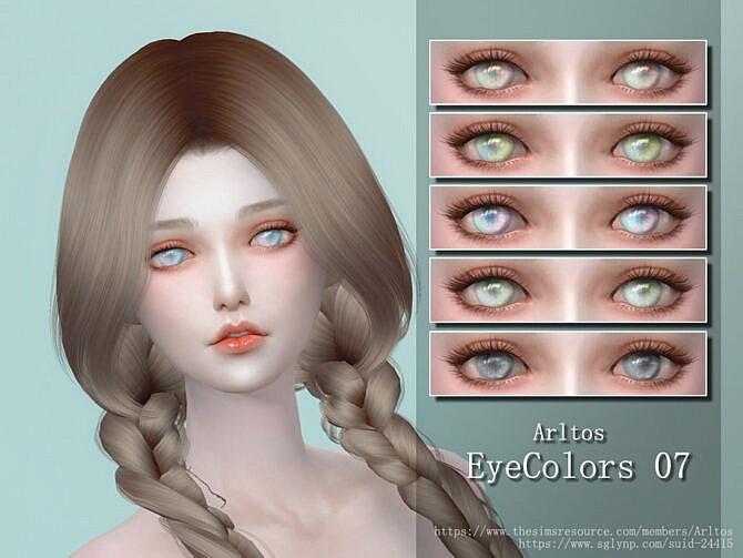 Sims 4 Eyes Colors 7 by Arltos at TSR