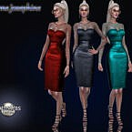 Madame Josephine Dress By Jomsims