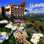 Hot-air Balloon By Virtualfairytales