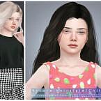 Aurora Hairstyle [child] By Darknightt