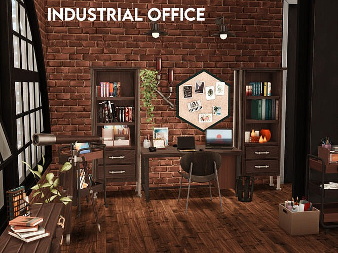 Industrial Office By Xogerardine