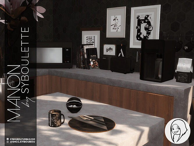 Manon Kitchen Set Part 3: Clutter By Syboubou
