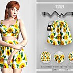Sunflowers Set-119 (skirt) Bd442 By Busra-tr