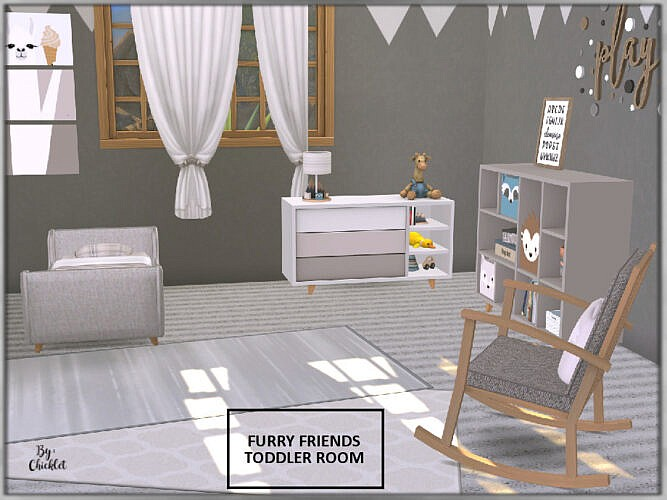 Furry Friends Toddler Bedroom By Chicklet