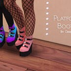 Platform Boots By Dissia