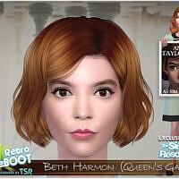 Beth Harmon (queen's Gambit) By Bakalia