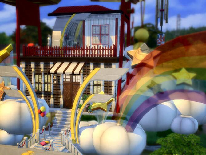 Sims 4 Hot Air Balloon by VirtualFairytales at TSR
