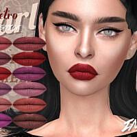 Imf Retro Lipstick N.330 By Izziemcfire