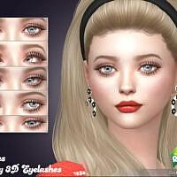 Retro Twiggy 3d Eyelashes By Feyona