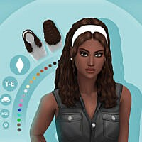 Maddie Hair By Simcelebrity00