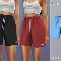 Zarifa Shorts By Belal1997