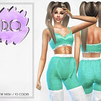 Crop Top 55 By D.o.lilac