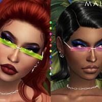 Malika Glasses By Plumbobs N Fries