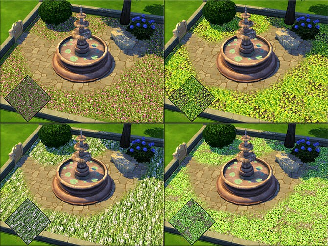 Sims 4 Terrain Paint Comming Spring SET by matomibotaki at TSR