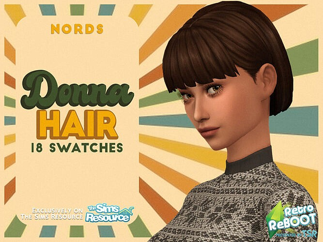 Retro Donna Hair By Nords