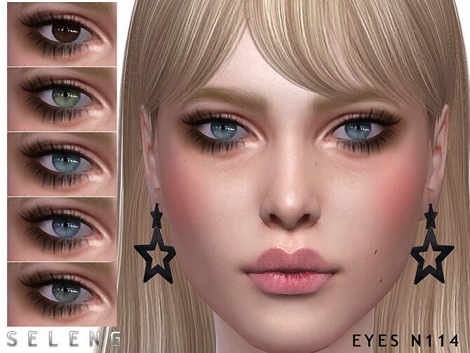 Sims 4 Eyes N114 by Seleng at TSR
