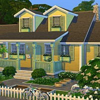 Grannys Cute Cottage By Flubs79