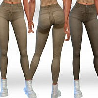 Female Camel Jeans By Saliwa