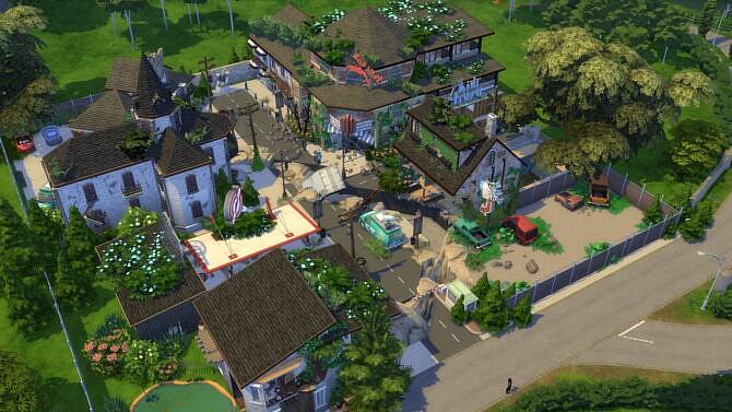 Full Apocalypse Town 64×64 By Bradybrad7