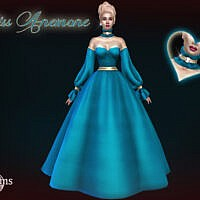 Miss Anemone Ball Gown By Jomsims