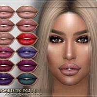 Frs Lipstick N244 By Fashionroyaltysims