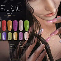 Nails 202104 By S-club Wm
