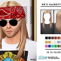 Retro 80's Male Hairstyle By Oranostr