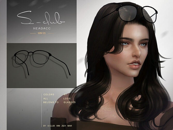 Glasses Headacc 202105 By S-club Wm