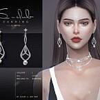 Diamond Earrings 202110 By S-club Ll