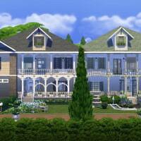 Colonial Duplex By Wykkyd