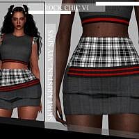 Rock Chic Vi Skirt Kristen By Viy Sims