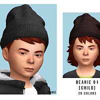 Beanie 01 Child By Oranostr