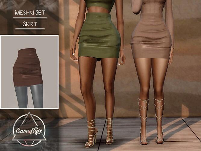 Meshki Set (skirt) By Camuflaje