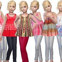 Long Top Child Girls By Trudieopp