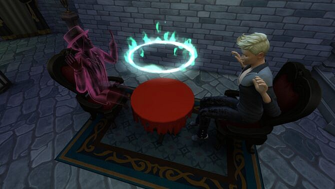 Torn Seance Table For Paranormal Seance By Serinion