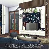 Neve Living Room By Rirann