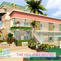 Retro The Holiday Motel By Lhonna