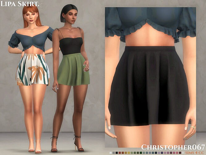 Lipa Skirt By Christopher067