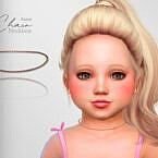 Chain Toddler Necklace By Suzue
