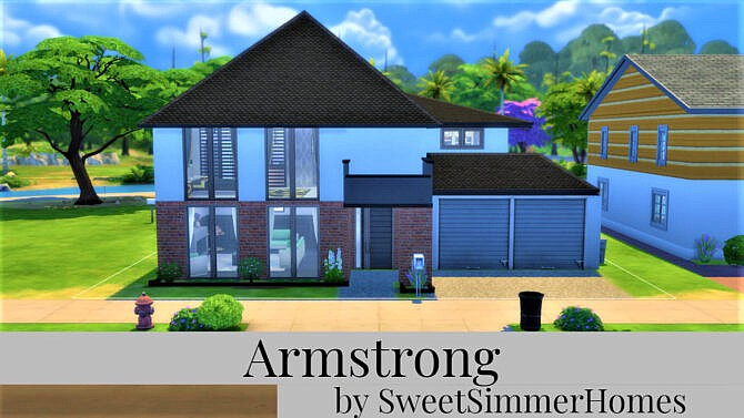 Armstrong Home By Sweetsimmerhomes