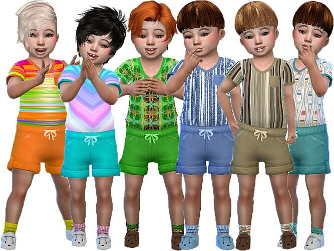 Toddler Boy Short Outfit By Trudieopp