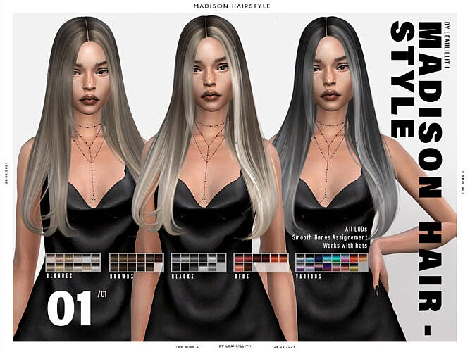 Madison Hairstyle By Leah Lillith