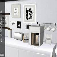 Manon Kitchen Part 2: Appliances By Syboubou