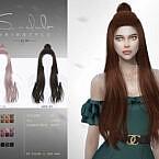 Lia Half Bun Hair N74 By S-club Ll