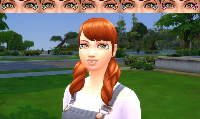 Sims 4 Magical makeup kit pack by Infinity at Mod The Sims 4